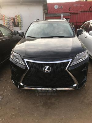Lexus RX 2012 350 FWD Black   Cars for sale in Lagos State, Ikeja