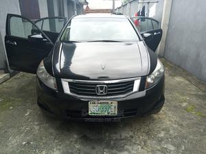 Honda Accord 2008 2.4 EX-L Automatic Black | Cars for sale in Rivers State, Obio-Akpor