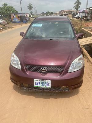 Toyota Matrix 2004 Red   Cars for sale in Ogun State, Sagamu