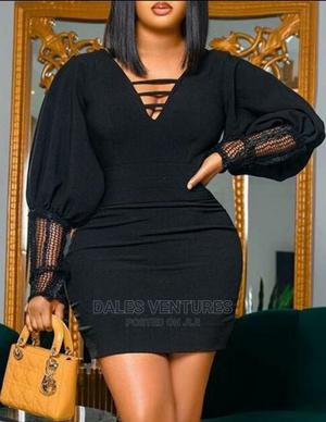 Hot Sale Long Sleeve Bodycon Dresses Sexy Package Hip Dress   Clothing for sale in Lagos State, Lekki
