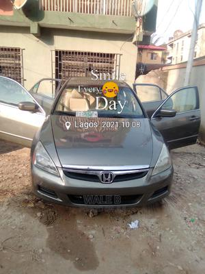 Honda Accord 2006 Sedan LX Automatic Gray | Cars for sale in Lagos State, Surulere