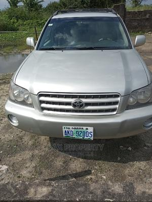 Toyota Highlander 2003 V6 AWD Silver | Cars for sale in Delta State, Warri