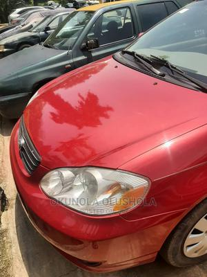 Toyota Corolla 2003 Sedan Red | Cars for sale in Abuja (FCT) State, Wuse