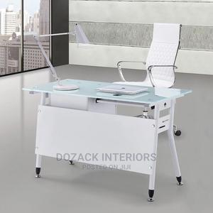 Office White Table   Furniture for sale in Lagos State, Ojo