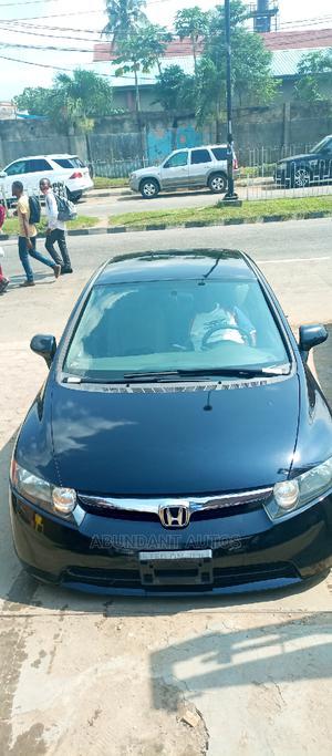 Honda Civic 2008 1.6i ES Automatic Black | Cars for sale in Lagos State, Ikeja