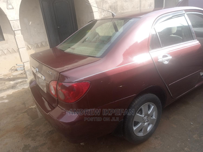 Toyota Corolla 2005 LE Red | Cars for sale in Chikun, Kaduna State, Nigeria