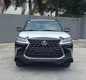 New Lexus LX 2021 570 AWD Black   Cars for sale in Lagos State, Ikoyi