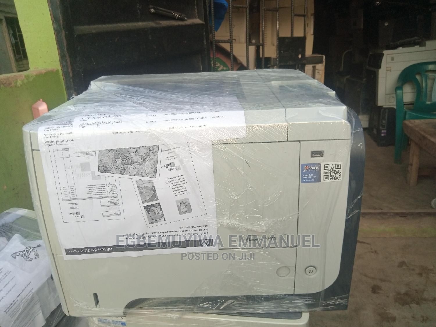 HP Laserjet Printer 3015 Black And White | Printers & Scanners for sale in Surulere, Lagos State, Nigeria