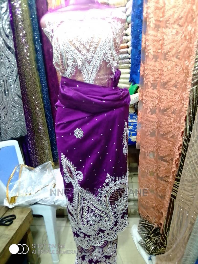 Sequence Lace and Full India Geroge   Wedding Wear & Accessories for sale in Surulere, Lagos State, Nigeria