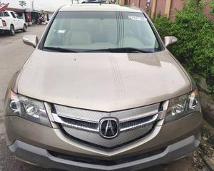 Acura MDX 2008 SUV 4dr AWD (3.7 6cyl 5A) Gold | Cars for sale in Lagos State, Ikeja