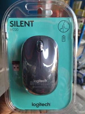 M220 Silent Mouse, Wireless Black | Computer Accessories  for sale in Lagos State, Ikeja
