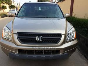Honda Pilot 2005 EX-L 4x4 (3.5L 6cyl 5A) Gold | Cars for sale in Lagos State, Gbagada