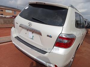 Toyota Highlander 2008 White   Cars for sale in Lagos State, Agege