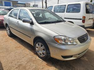 Toyota Corolla 2004 Sedan Automatic Silver | Cars for sale in Lagos State, Agege