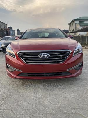 Hyundai Sonata 2016 Red | Cars for sale in Lagos State, Ajah
