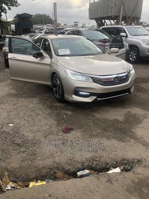 Honda Accord 2013 Gold   Cars for sale in Lagos State, Amuwo-Odofin