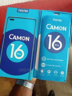 Tecno Camon 16 Pro 128 GB Blue   Mobile Phones for sale in Lagos State, Yaba