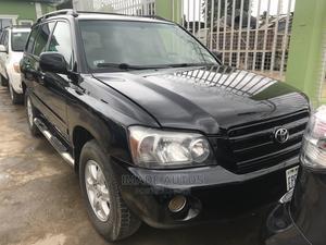 Toyota Highlander 2006 V6 4x4 Black   Cars for sale in Lagos State, Ogba