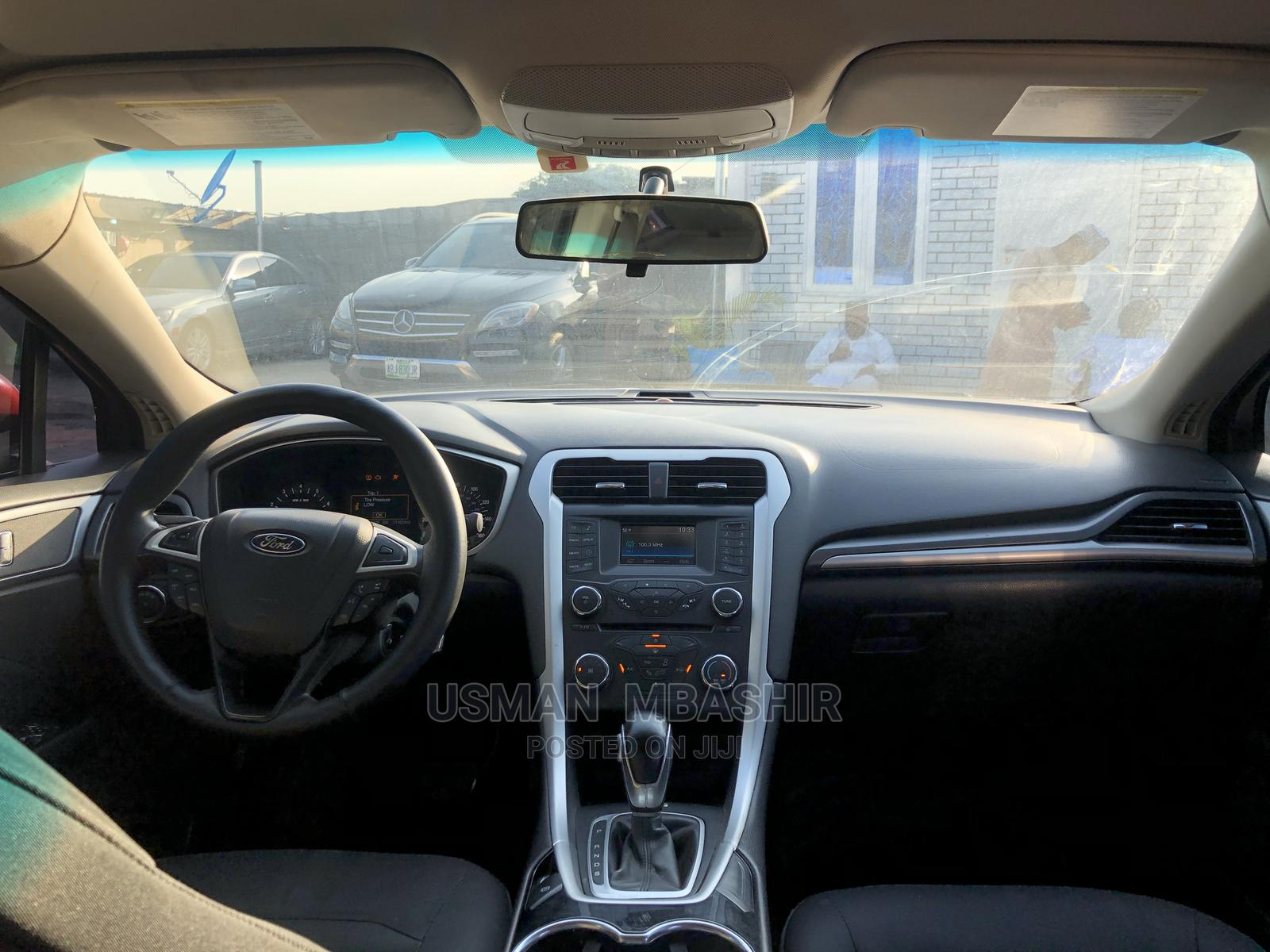 Ford Fusion 2015 Red | Cars for sale in Jahi, Abuja (FCT) State, Nigeria