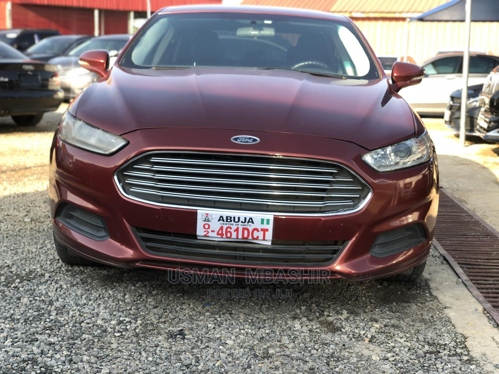 Ford Fusion 2015 Red