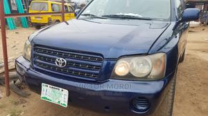 Toyota Highlander 2003 Blue   Cars for sale in Lagos State, Agege
