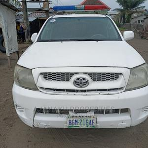 Toyota Hilux 2005 2.5 Cab White   Cars for sale in Lagos State, Ibeju