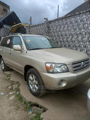 Toyota Highlander 2007 V6 4x4 Gold | Cars for sale in Lagos State, Agege