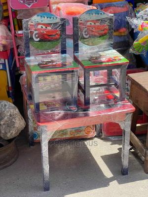 Wooden Charater Chair and Table   Children's Furniture for sale in Lagos State, Ojodu