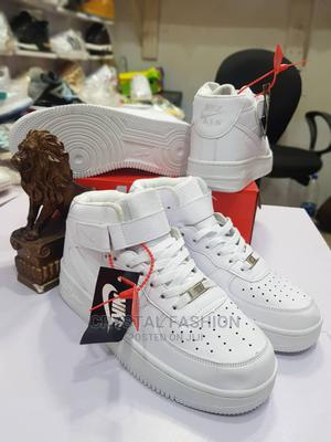 Cute Nike Ankle White Sneakers   Shoes for sale in Lagos State, Isolo