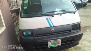 Clean Toyota Hiace 2001 White | Buses & Microbuses for sale in Lagos State, Gbagada