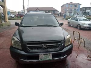Honda Pilot 2004 EX-L 4x4 (3.5L 6cyl 5A) Gray   Cars for sale in Oyo State, Ido