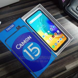 Tecno Camon 15 Premier 128 GB Blue | Mobile Phones for sale in Kwara State, Ilorin West