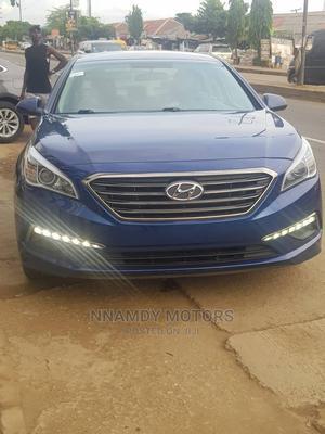 Hyundai Sonata 2015 Blue   Cars for sale in Lagos State, Ipaja