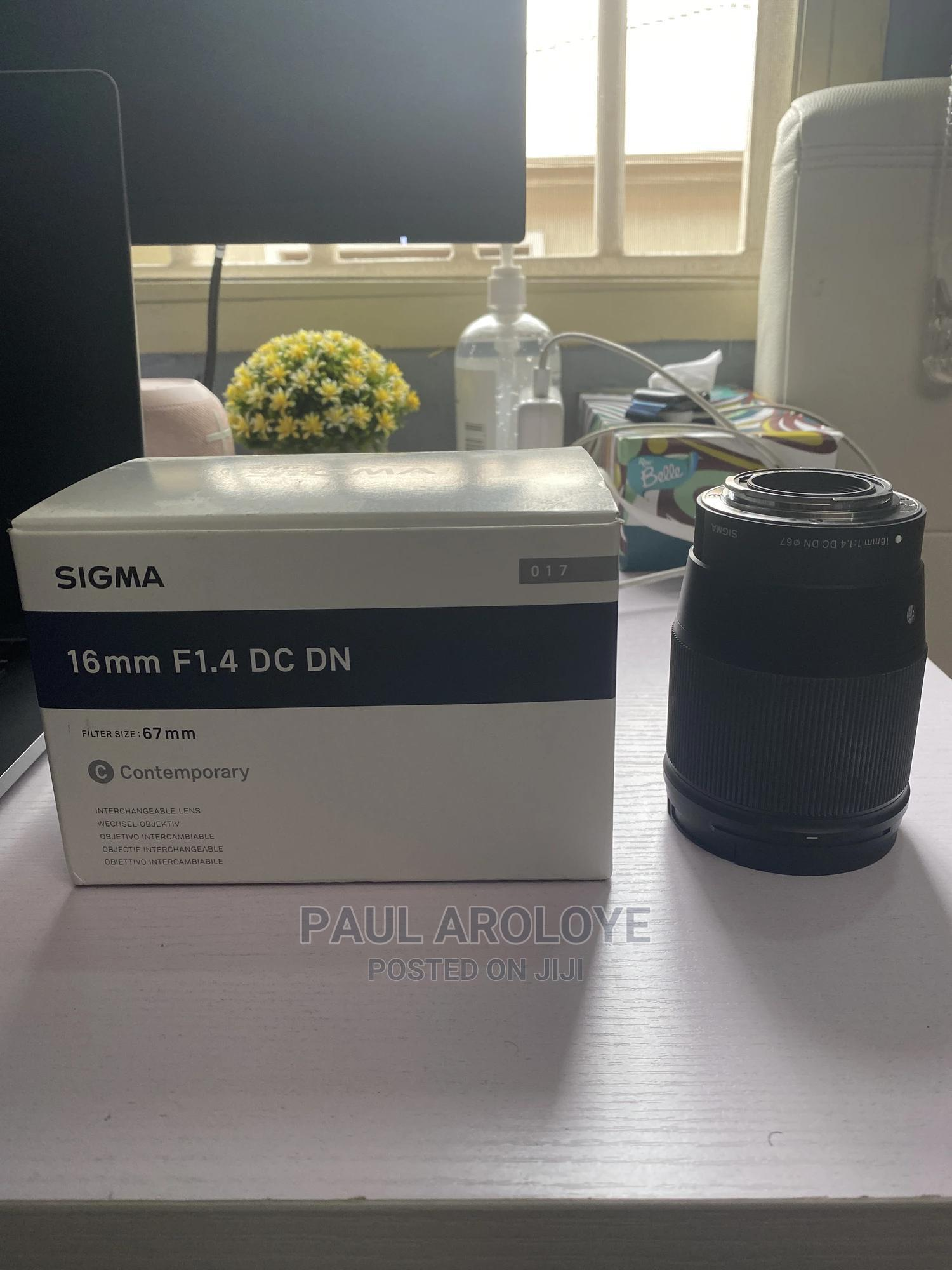 Sigma 16mm Lens For Canon