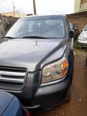 Honda Pilot 2007 Gray   Cars for sale in Lagos State, Alimosho