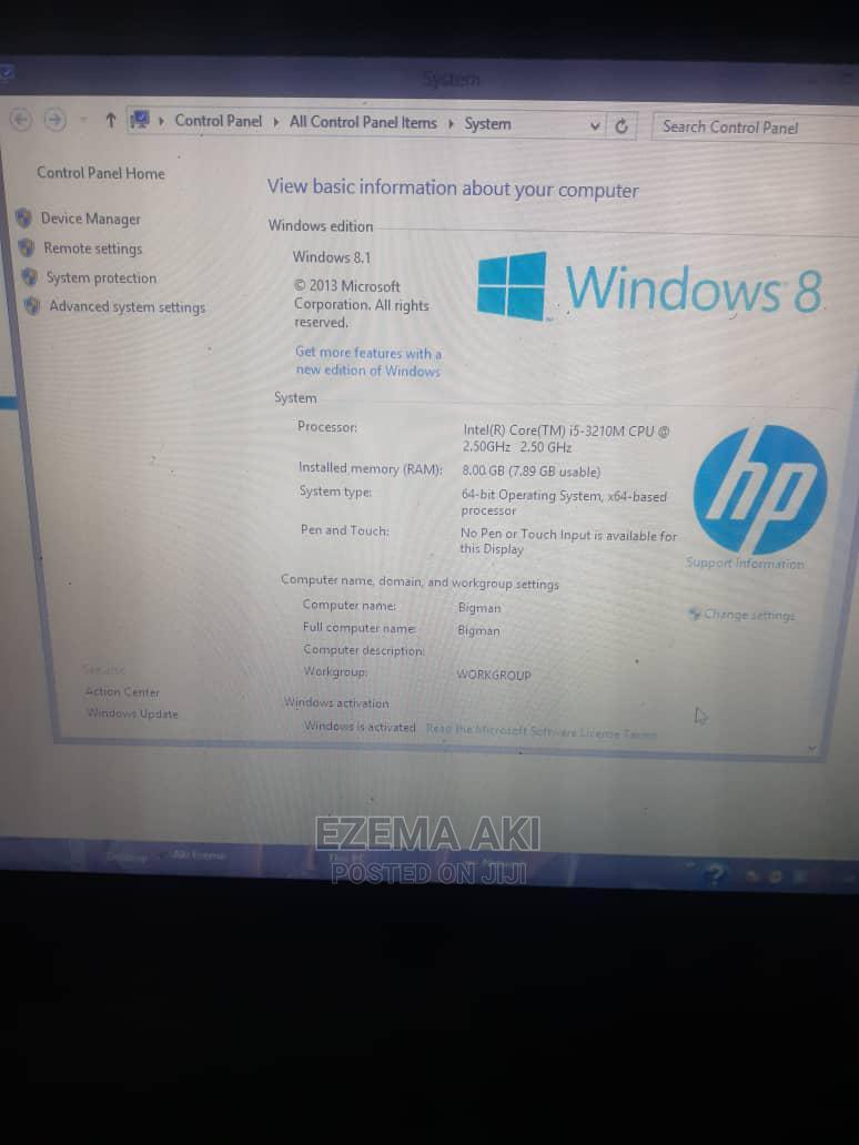 Laptop HP Envy Dv6 8GB Intel Core I5 HDD 500GB
