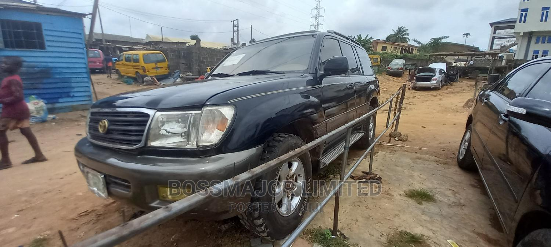 Toyota Land Cruiser 2002 HDJ 100 Black | Cars for sale in Ikeja, Lagos State, Nigeria
