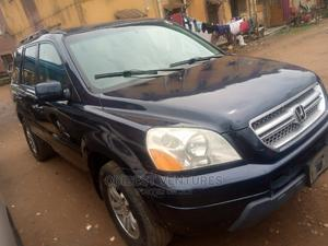 Honda Pilot 2005 EX-L 4x4 (3.5L 6cyl 5A) Blue | Cars for sale in Lagos State, Isolo
