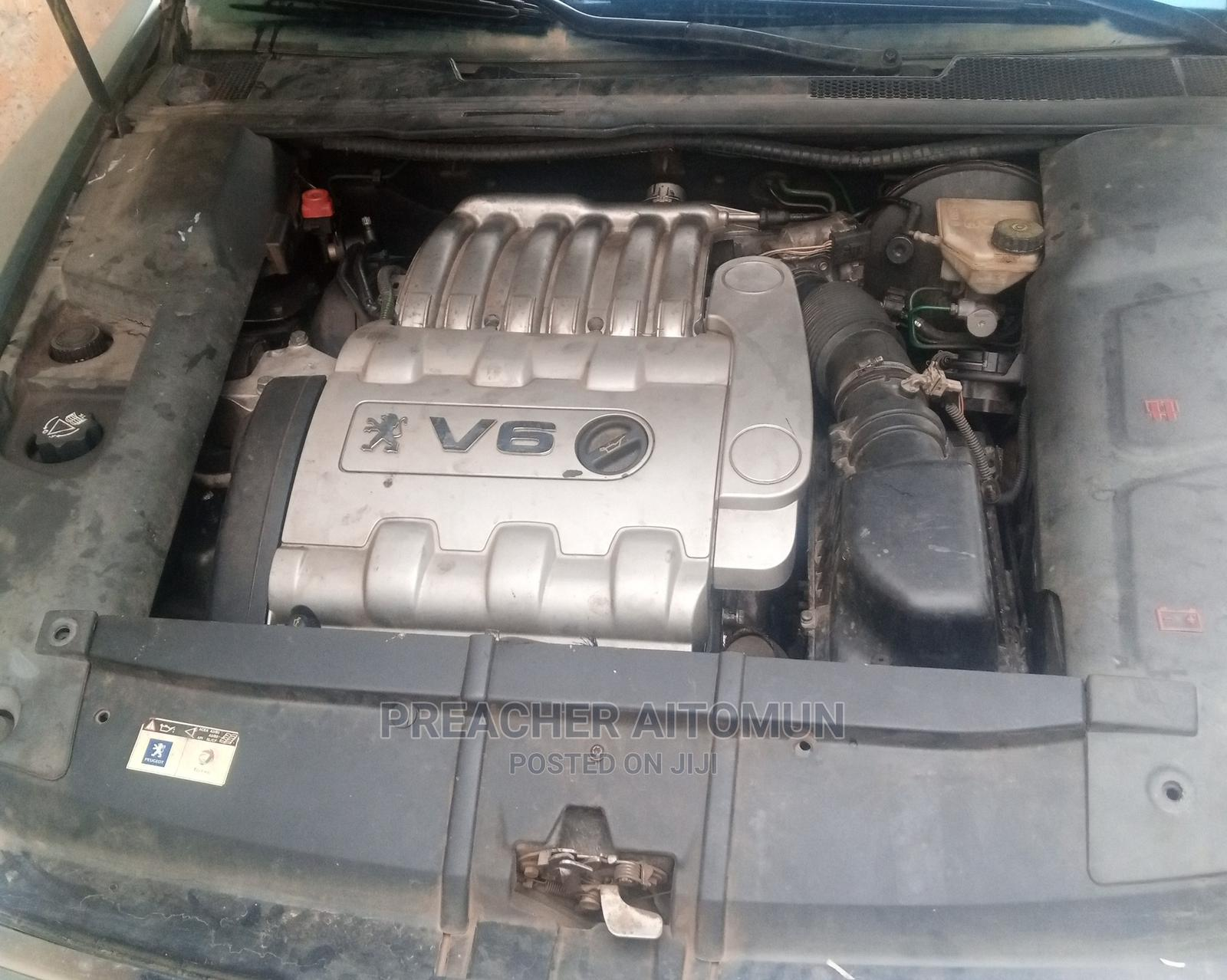 Peugeot 607 2010 Gray | Cars for sale in Asokoro, Abuja (FCT) State, Nigeria