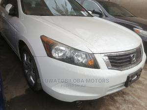Honda Accord 2009 2.4 EX White | Cars for sale in Lagos State, Alimosho