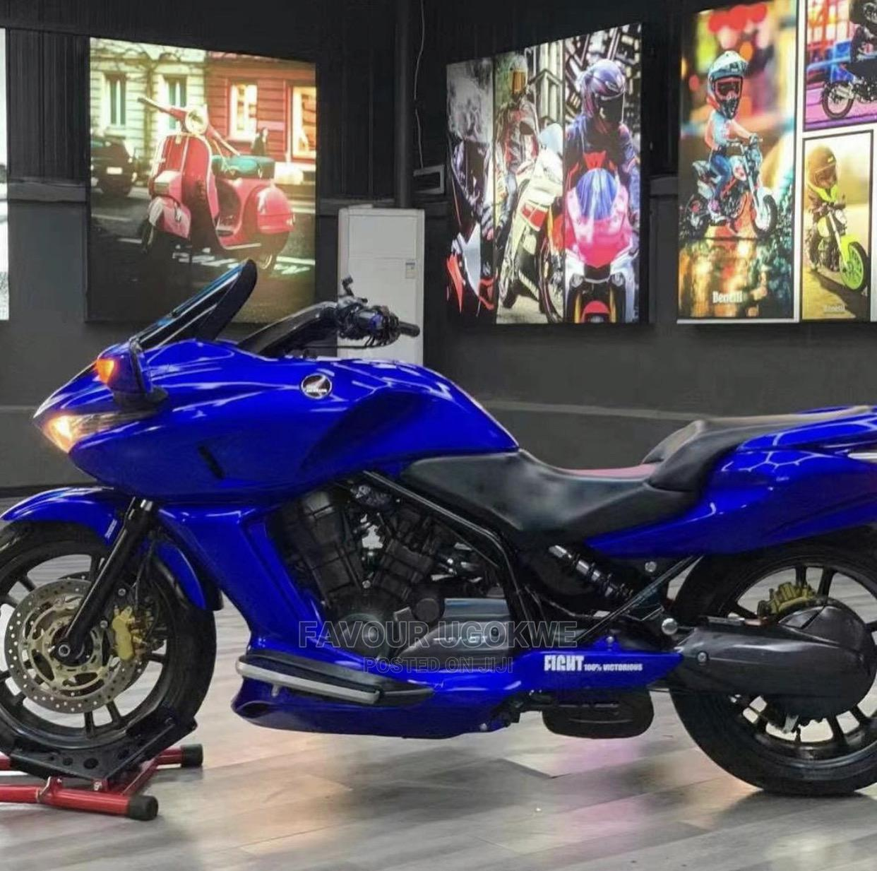 New Honda 2019 Blue   Motorcycles & Scooters for sale in Lagos Island (Eko), Lagos State, Nigeria