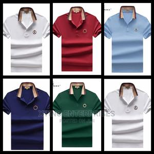 Burberry Polo T Shirt Original   Clothing for sale in Lagos State, Surulere