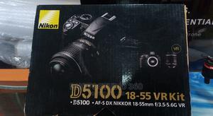 Nikon D5100 (With Lens) | Photo & Video Cameras for sale in Lagos State, Lagos Island (Eko)