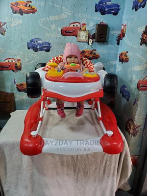 Tokunbo Uk Used 2in1 Jeep Baby Walker and Rocker | Children's Gear & Safety for sale in Lagos State, Ikeja