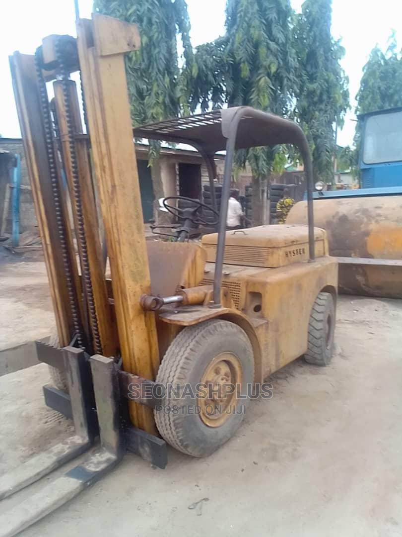 Archive: 4 Tons Hyster Forklift in Perfect Working Condition