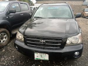 Toyota Highlander 2004 Black   Cars for sale in Lagos State, Ojodu