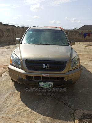 Honda Pilot 2004 EX 4x4 (3.5L 6cyl 5A) Gold | Cars for sale in Oyo State, Ibadan