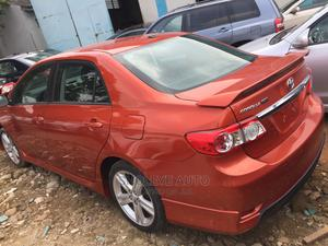Toyota Corolla 2013 S 5-Speed Orange   Cars for sale in Lagos State, Ikeja