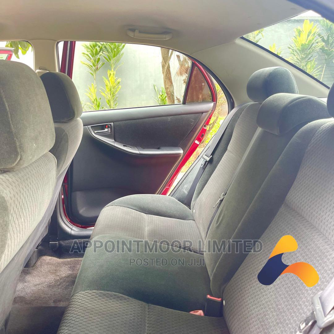 Toyota Corolla 2005 S Red | Cars for sale in Ikeja, Lagos State, Nigeria