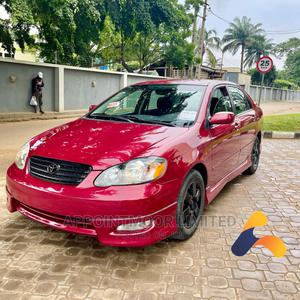 Toyota Corolla 2005 S Red | Cars for sale in Lagos State, Ikeja